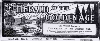 The Herald of the Golden Age 1914