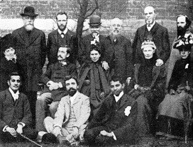Josiah Oldfield and Gandhi vegetarian meeting