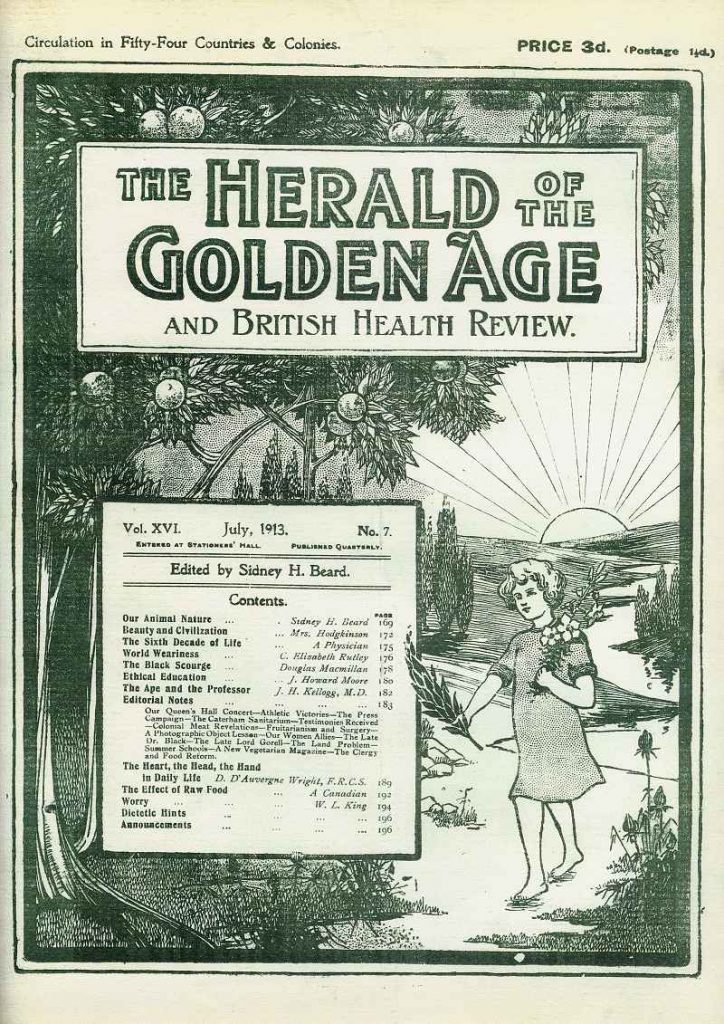 The Herald of the Golden Age 1913