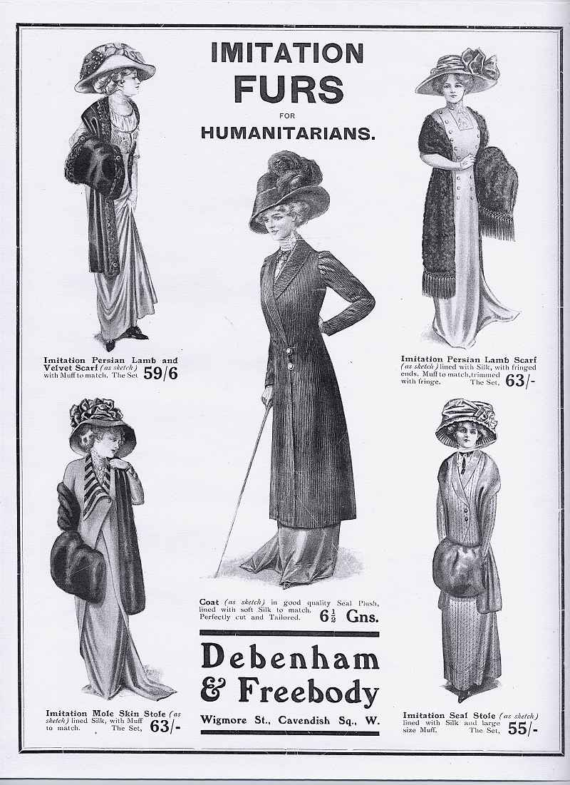 The Order of the Golden Age advert - Imitation Fur for Humanitarians